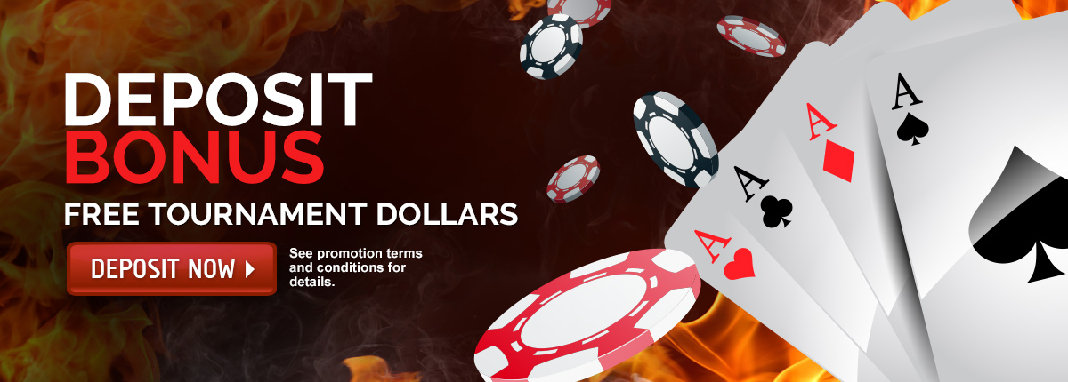 Deposit Bonus - Tournament Dollars